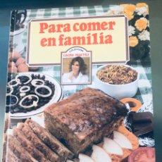 Libros: RECETAS DE COCINA. Lote 288329048