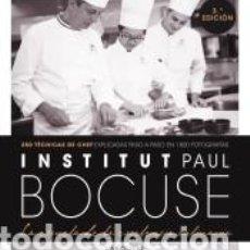 Libros: INSTITUT PAUL BOCUSE. LA ESCUELA DE LA EXCELENCIA CULINARIA. Lote 296586213