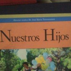 Libros: NUESTROS HIJOS. CAJA DE AHORROS DE ASTURIAS. Lote 98947988