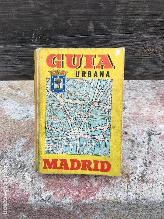 MADRID, GUIA CALLEJERO, AÑO 1968 (Libros Nuevos - Humanidades - Comunicación)