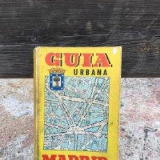 Libros: MADRID, GUIA CALLEJERO, AÑO 1968. Lote 100542551
