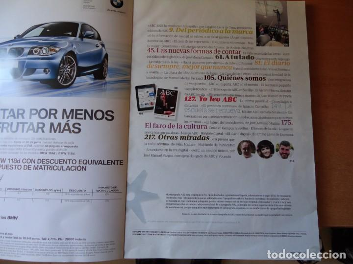 Libros: Libro. ESPECIAL ABC CONTIGO. 2010, EL ABC DE SIEMPRE MEJOR QUE NUNCA. 256,PAGINAS. - Foto 2 - 130740714
