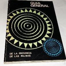 Libros: 1977 GUIA GENERAL DE LA PROVINCIA DE LAS PALMAS, EDITORIAL CIUDAD JARDIN GASTOS ENVIO INCLIDOS. Lote 140528626