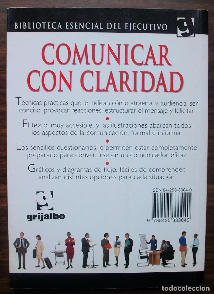 Libros: COMUNICAR CON CLARIDAD. ROBERT HELLER. - Foto 2 - 141502910
