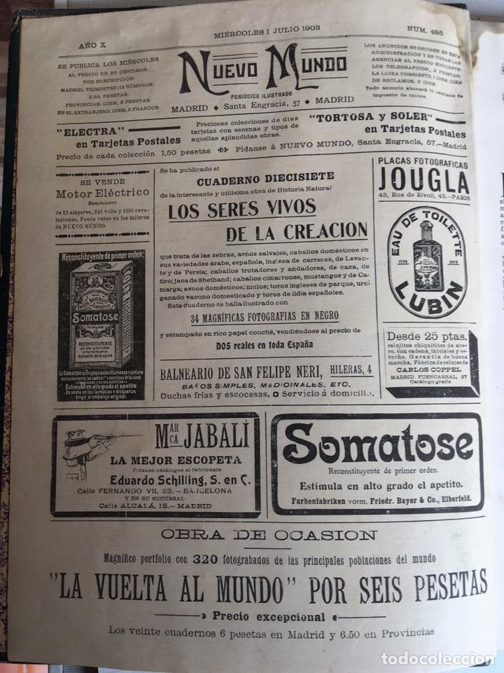 Libros: NUEVO MUNDO DE 1903 - Foto 4 - 149755938