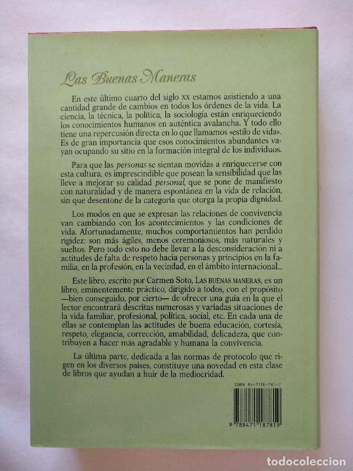 Libros: Las buenas maneras - Foto 2 - 151045458