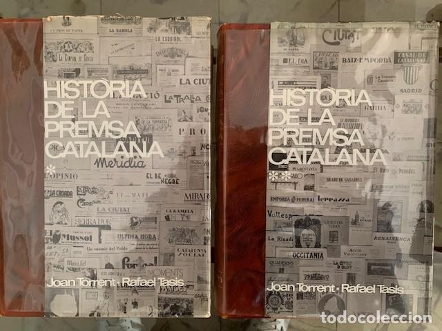HISTÒRIA DE LA PREMSA CATALANA. EDITORIAL BRUGUERA 1966. JOAN TORRENT I RAFAEL TASIS (Libros Nuevos - Humanidades - Comunicación)