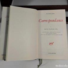 Libros: CORRESPONDANCE. TOMO I. BAUDELAIRE. EDIC. GALLIMARD. FRANCIA. 1973. . Lote 159614170