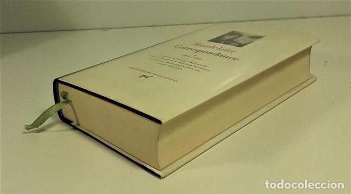 Libros: CORRESPONDANCE. TOMO I. BAUDELAIRE. EDIC. GALLIMARD. FRANCIA. 1973. - Foto 3 - 159614170