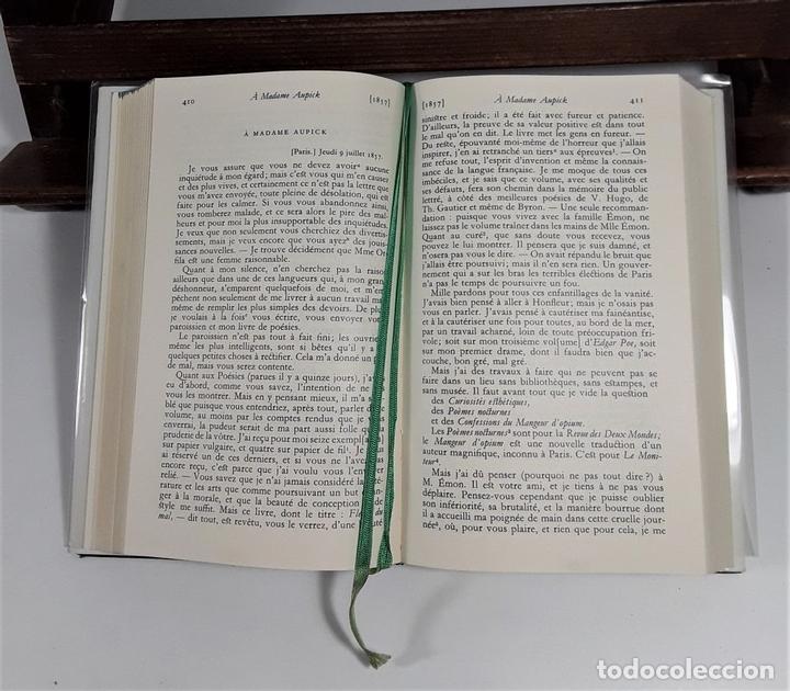Libros: CORRESPONDANCE. TOMO I. BAUDELAIRE. EDIC. GALLIMARD. FRANCIA. 1973. - Foto 6 - 159614170