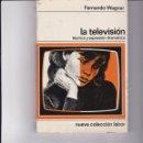 Libros: LA TELEVISIÓN. TÉCNICA Y EXPRESIÓN DRAMÁTICA. PEDIDO MÍNIMO EN LIBROS: 4 TÍTULOS. Lote 166415154