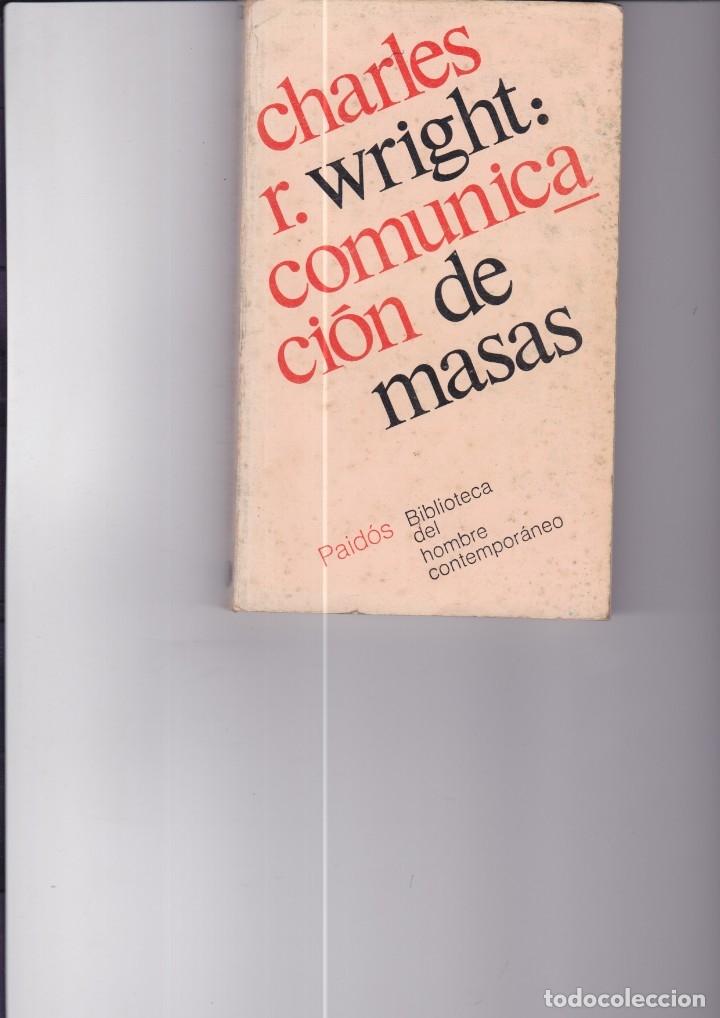 COMUNICACIÓN DE MASAS. PEDIDO MÍNIMO EN LIBROS: 4 TÍTULOS (Libros Nuevos - Humanidades - Comunicación)