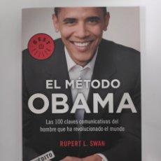 Libros: EL MÉTODO OBAMA. Lote 184879691