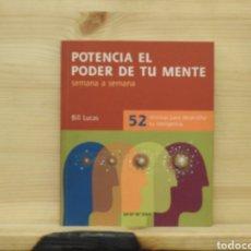 Libros: POTENCIA EL PODER DE TU MENTE, BILL LUCAS. Lote 198065766