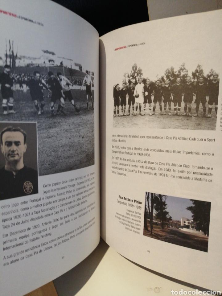Libros: OS DEPORTISTAS NA TOPONOMIA DE LISBOA. CAMARA MUNICIPAL DE LISBOA - Foto 3 - 209601097