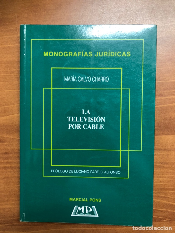 LA TELEVISIÓN POR CABLE, DE MARÍA CALVO (Libros Nuevos - Humanidades - Comunicación)