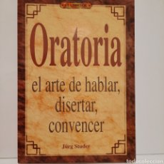 Libros: EL LIBRO DE ORATORIA. Lote 237778640