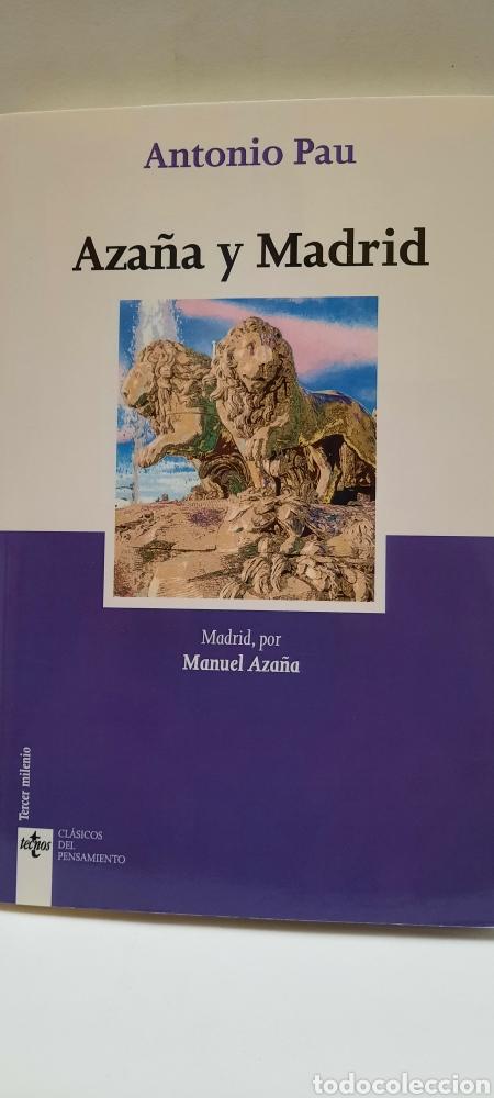AÑAZA Y MADRID DE ANTONIO PAU (Libros Nuevos - Humanidades - Comunicación)