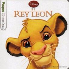 Libros: EL REY LEON - PEQUECUENTOS DISNEY- PLANETA, 2013 (NUEVO). Lote 48938993