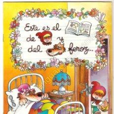 Libros: CUENTO DE CAPERUCITA ROJA, EDICIONES MP ILUSTRACIONES DE JAN, 1986 NUEVO.. Lote 221874960