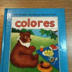 Libros: COLORES. LIBRO NUEVO ANAYA, 1985. DESCATALOGADO. Lote 54984273