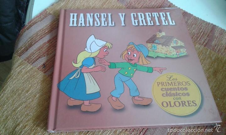 HANSEL Y GRETEL - LOS PRIMEROS CUENTOS CLASICOS CON OLORES- NUEVO-SIN DESPRECINTAR - DIFICIL (Libros Nuevos - Literatura Infantil y Juvenil - Cuentos infantiles)