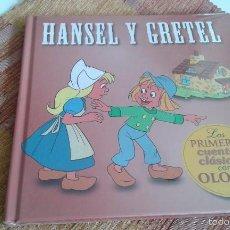 Libros: HANSEL Y GRETEL - LOS PRIMEROS CUENTOS CLASICOS CON OLORES- NUEVO-SIN DESPRECINTAR - DIFICIL. Lote 57542645