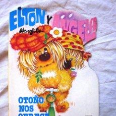 Livres: CUENTO TROQUELADO DE LOS WOOFITS ELTON Y ANGELA. OTOÑO NOS OFRECE SUS FRUTOS. ED. GAMA.1984. NUEVO. Lote 69013201