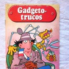 Livres: Nº3. CUENTO DEL INSPECTOR GADGET. GADGETO TRUCOS. ED. MULTILIBRO. AÑO 1987. NUEVO. Lote 217297515
