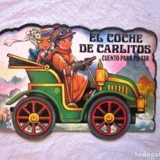 Livres: CUENTO PARA PINTAR Y ESCRIBIR EL COCHE DE CARLITOS. ED. GAVIOTA. AÑO 1986. NUEVO. Lote 69020857