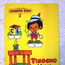 Libros: RECORTABLE Nº 2. COLECCION CUENTO VIVO. PINOCHO Y EL FUEGO. RECORTABLES. ED. MUNDIAL.1985. NUEVO. Lote 69022729