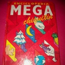 Libros: LIBRO. MEGA CHIQUITÍN. ENCICLOPEDIA JUNIOR. . Lote 81159330