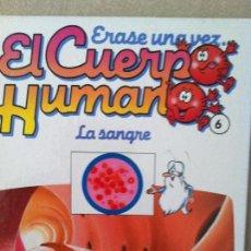 Libros: ERASE UNA VEZ EL CUERPO HUMANO Nº 6 PLANETA AGOSTINI. Lote 81642076