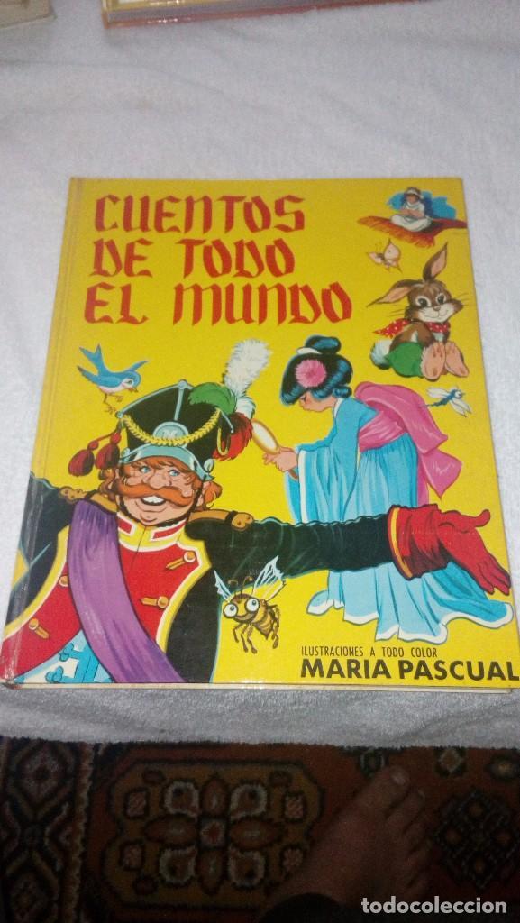 CUENTOS DE TODO EL MUNDO. ILUSTRADO POR MARIA PASCUAL. EDICIONES TORAY. BARCELONA, 1970. (Libros Nuevos - Literatura Infantil y Juvenil - Cuentos infantiles)