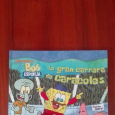 Livres: BOB ESPONJA LA GRAN CARRERA DE CARACOLES. Lote 86099852