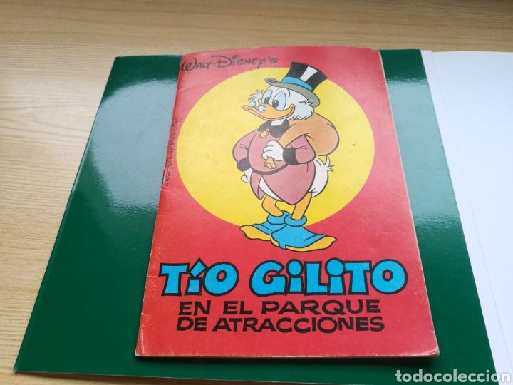 CUENTO EL TÍO GILITO EN EL PARQUE DE ATRACCIONES. DISNEY. 1976 (Libros Nuevos - Literatura Infantil y Juvenil - Cuentos infantiles)