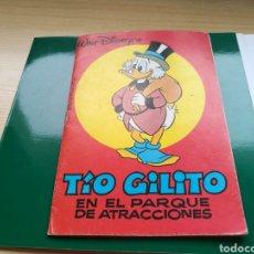 Libros: CUENTO EL TÍO GILITO EN EL PARQUE DE ATRACCIONES. DISNEY. 1976. Lote 87068802