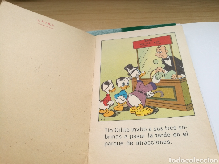 Libros: Cuento El tío Gilito en el parque de atracciones. Disney. 1976 - Foto 2 - 87068802
