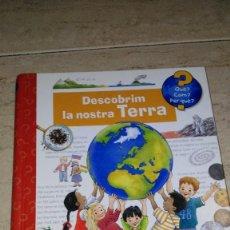 Libros: DESCUBRIM LA NOSTRA TERRA. Lote 91622125