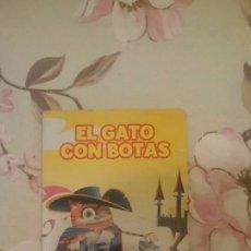 Libros: EL GATO CON BOTAS. Lote 92057255