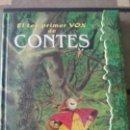 Libros: CONTES EDITORIAL VOX. Lote 94392383