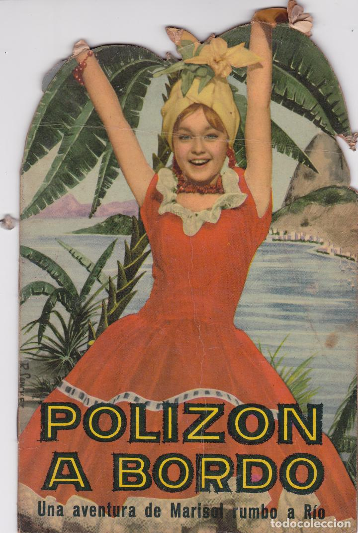 Libros: MARISOL - POLIZON A BORDO - Año 1963 - Edit. Fher - Foto 2 - 94825731