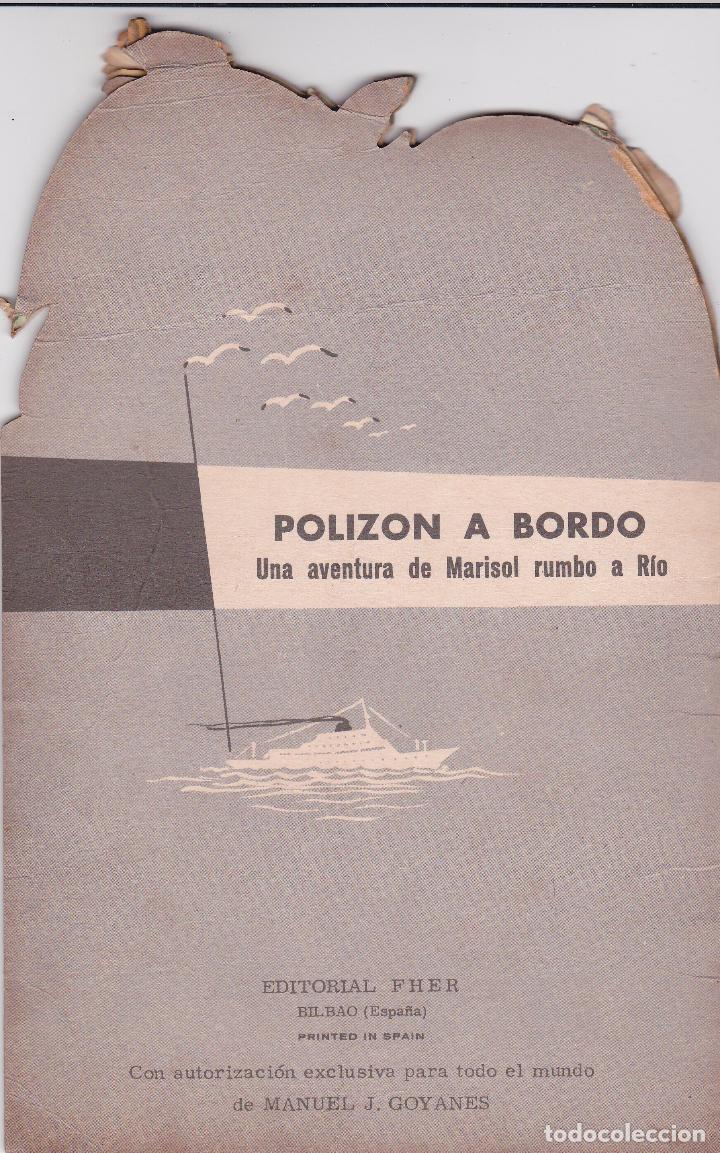 Libros: MARISOL - POLIZON A BORDO - Año 1963 - Edit. Fher - Foto 3 - 94825731