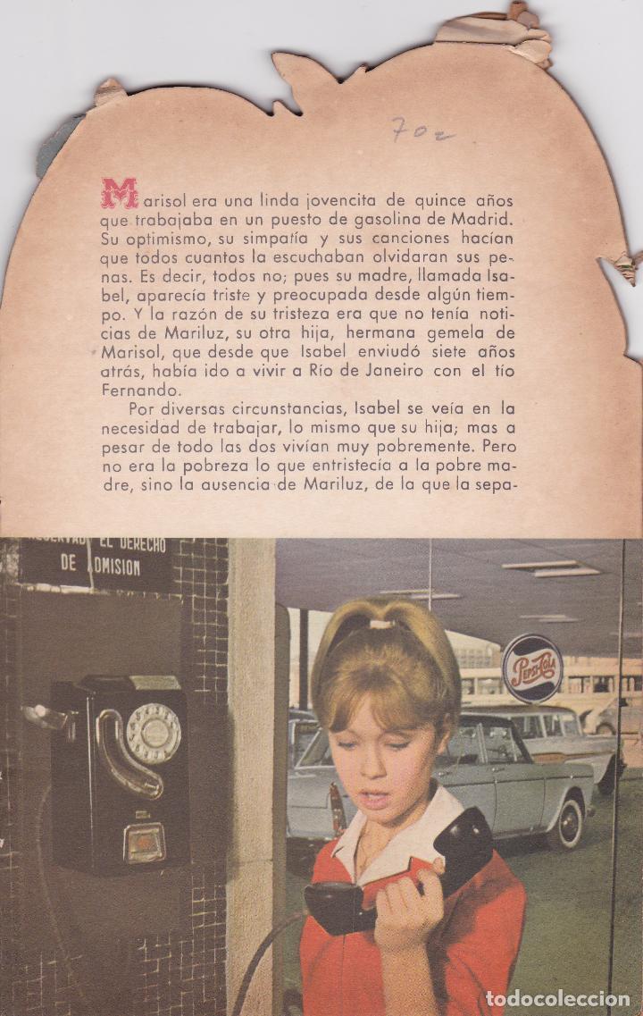 Libros: MARISOL - POLIZON A BORDO - Año 1963 - Edit. Fher - Foto 4 - 94825731