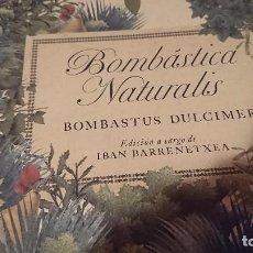 Libros: LIBRO NIÑOS DIDÁCTICO BOMBÁSTICA NATURALES. Lote 96037267