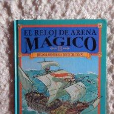 Libros: EL RELOJ DE ARENA MAGICO - JUEGO DE AVENTURAS A TRAVES DEL TIEMPO N. 29. Lote 97387051