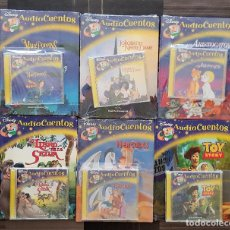 Libros: AUDIOCUENTOS DISNEY LOTE DE 6 FASCICULOS + CD - PLANETA DEAGOSTINI. Lote 97415727