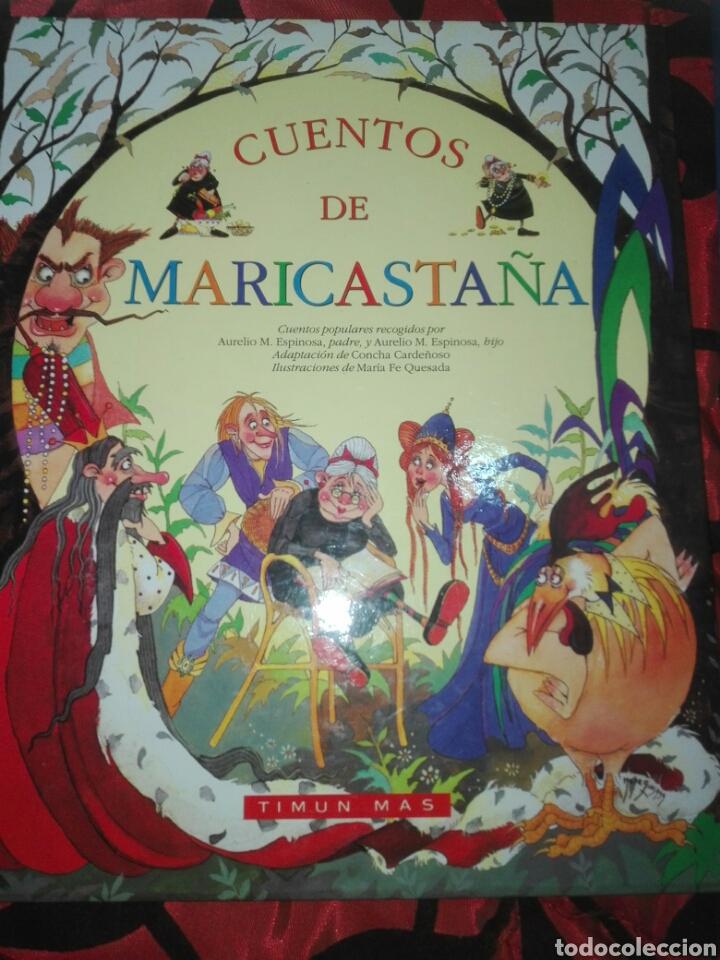 LOTE 2 CUENTOS: CUENTOS DE MARICASTAÑA Y CUENTOS CLÁSICOS. IMPECABLES. (Libros Nuevos - Literatura Infantil y Juvenil - Cuentos infantiles)