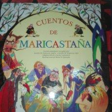 Libros: LOTE 2 CUENTOS: CUENTOS DE MARICASTAÑA Y CUENTOS CLÁSICOS. IMPECABLES.. Lote 106068327