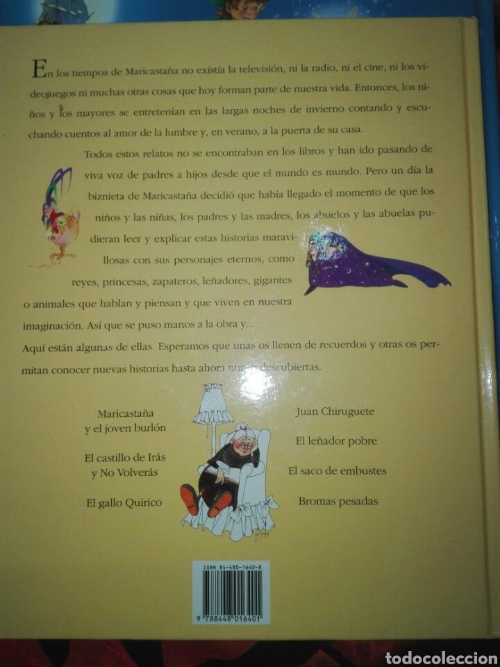 Libros: Lote 2 Cuentos: Cuentos de Maricastaña y Cuentos Clásicos. IMPECABLES. - Foto 8 - 106068327